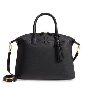 NWT Tory Burch McGraw slouchy leather satchel